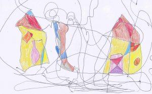 Detská fraktálna kresba