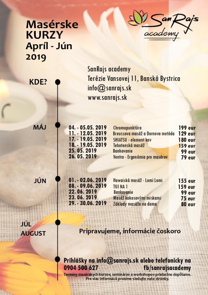 Masérske kurzy Banská Bystrica